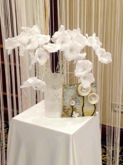 Paper Decor Flowers Decorations Armenian Wedding